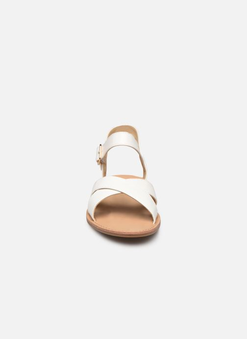 Sandalias I Love Shoes Thafal Blanco vista del modelo