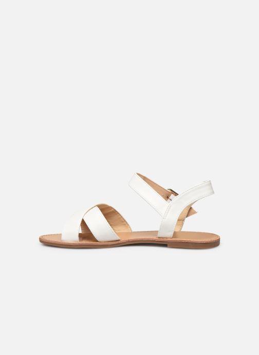 Sandalen I Love Shoes Thafal weiß ansicht von vorne