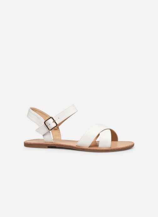 Sandalen I Love Shoes Thafal weiß ansicht von hinten