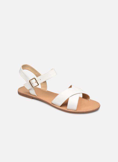 Sandalias I Love Shoes Thafal Blanco vista de detalle / par