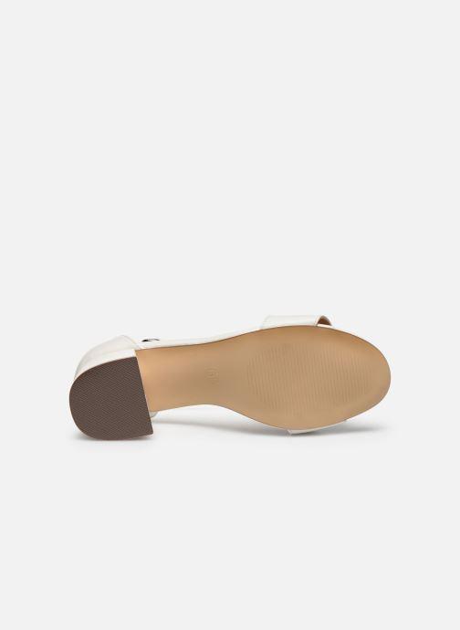 Sandales et nu-pieds I Love Shoes Thavoue Blanc vue haut
