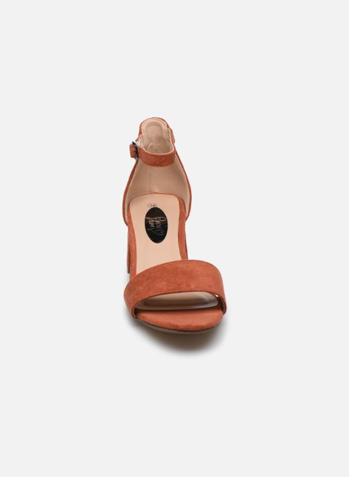 Sandalias I Love Shoes Thavoue Rojo vista del modelo
