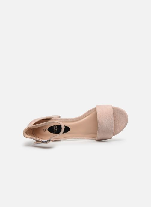 Sandalias I Love Shoes Thavoue Rosa vista lateral izquierda