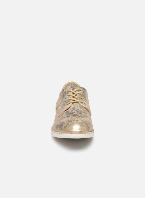 Scarpe con lacci I Love Shoes Thabam Oro e bronzo modello indossato