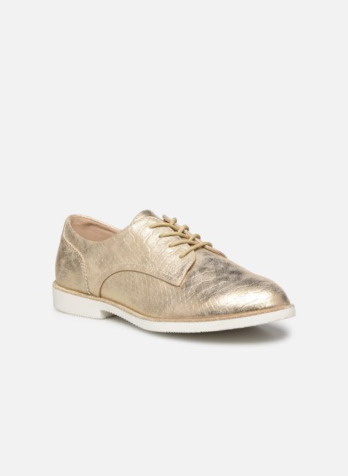 Zapatos con cordones I Love Shoes Thabam Oro y bronce vista de detalle / par