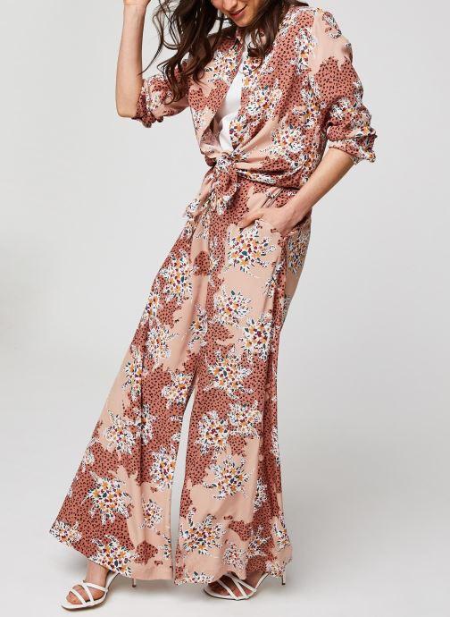 Vêtements Suncoo BLOUSE LILIANE Rose vue bas / vue portée sac