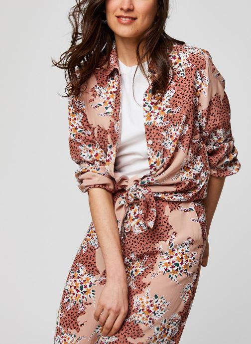 Vêtements Suncoo BLOUSE LILIANE Rose vue détail/paire
