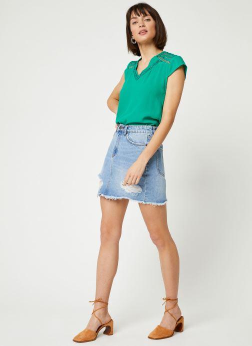 Vêtements Suncoo BLOUSE LORENA Vert vue bas / vue portée sac
