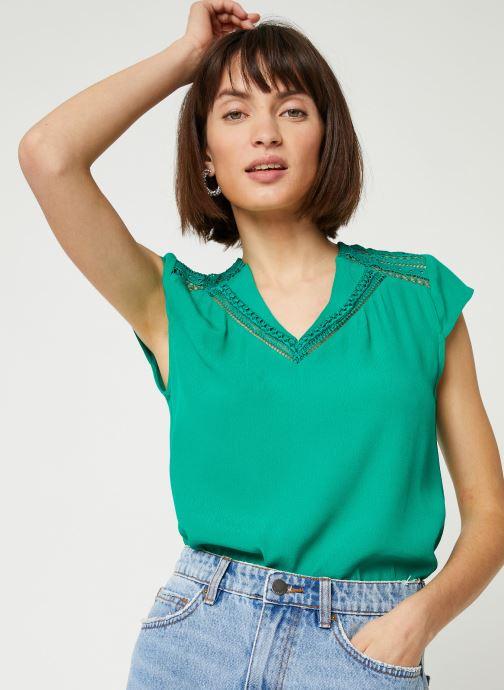 Vêtements Suncoo BLOUSE LORENA Vert vue droite