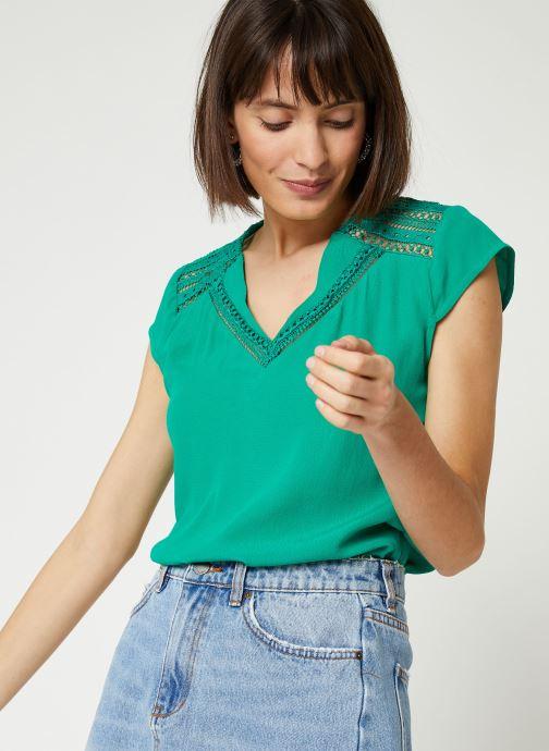 Vêtements Suncoo BLOUSE LORENA Vert vue détail/paire