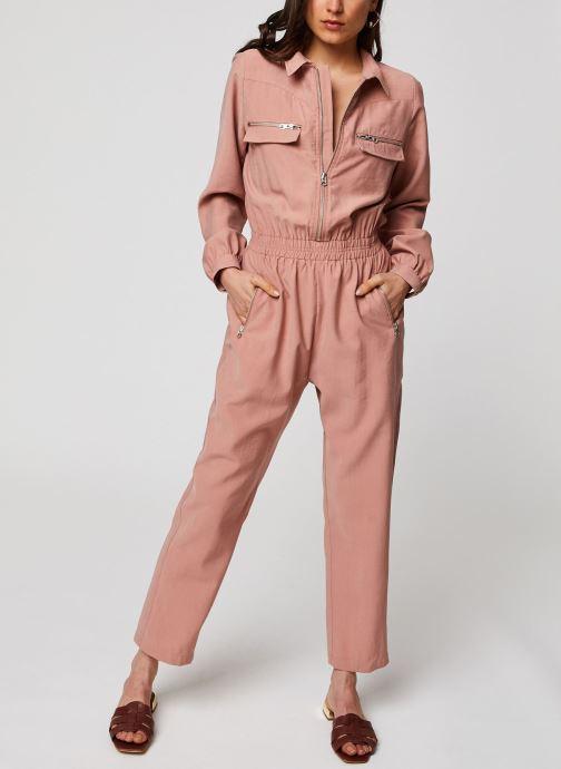 Vêtements Suncoo COMBI-PANTALON THALIA Marron vue bas / vue portée sac