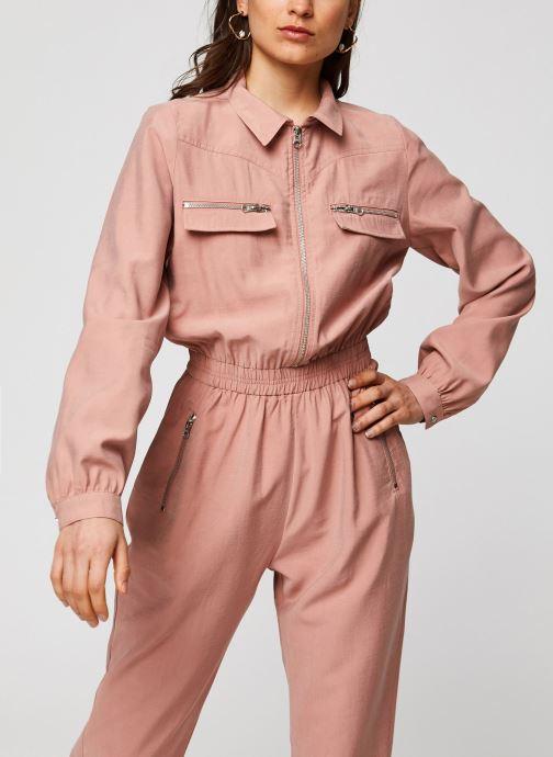 Vêtements Suncoo COMBI-PANTALON THALIA Marron vue droite