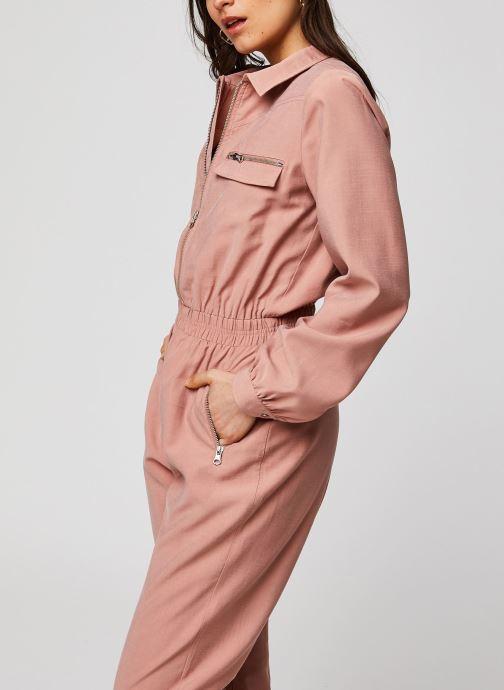 Vêtements Suncoo COMBI-PANTALON THALIA Marron vue détail/paire