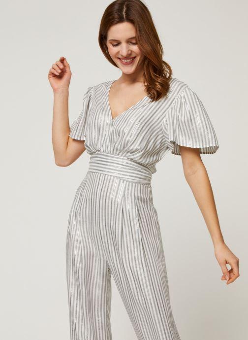 Vêtements Suncoo COMBI-PANTALON THELMA Argent vue détail/paire