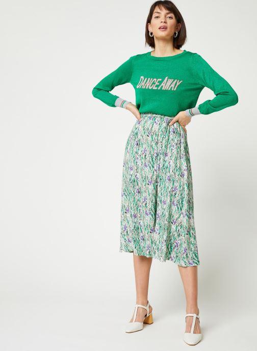 Vêtements Suncoo PULL PHILO Vert vue bas / vue portée sac