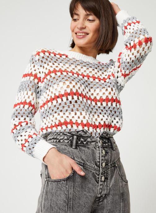 Vêtements Suncoo PULL PRADELLE Blanc vue droite
