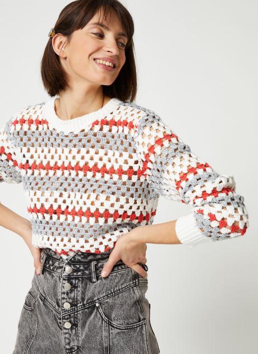 Vêtements Suncoo PULL PRADELLE Blanc vue détail/paire
