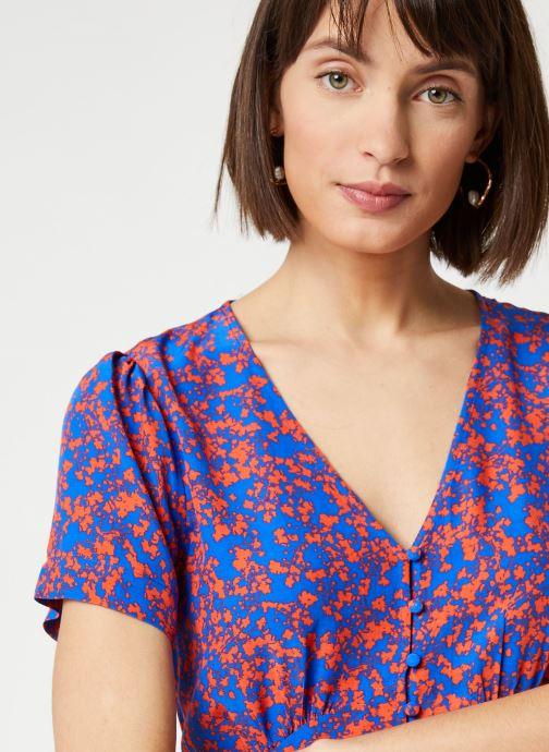 Vêtements Suncoo ROBE CARINE Bleu vue face