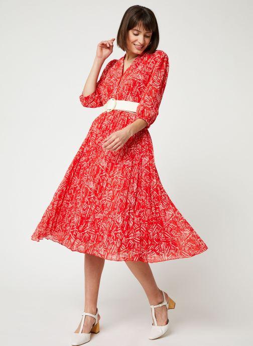 Vêtements Suncoo ROBE CHADY Rouge vue bas / vue portée sac
