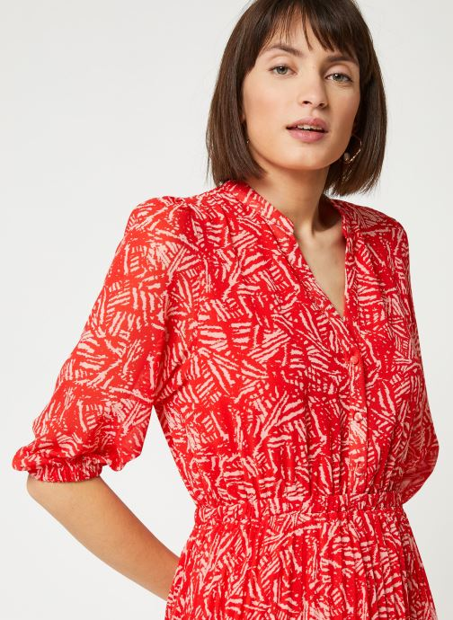 Vêtements Suncoo ROBE CHADY Rouge vue face