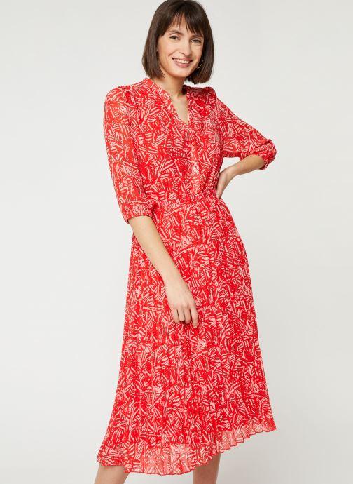 Vêtements Suncoo ROBE CHADY Rouge vue droite