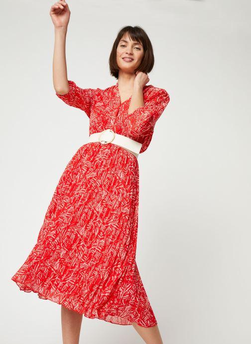 Vêtements Suncoo ROBE CHADY Rouge vue détail/paire