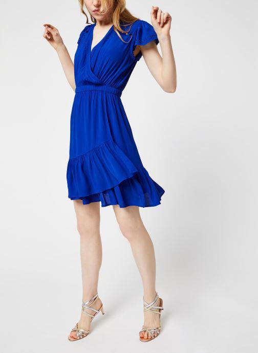 Vêtements Suncoo ROBE CHAYA Bleu vue bas / vue portée sac