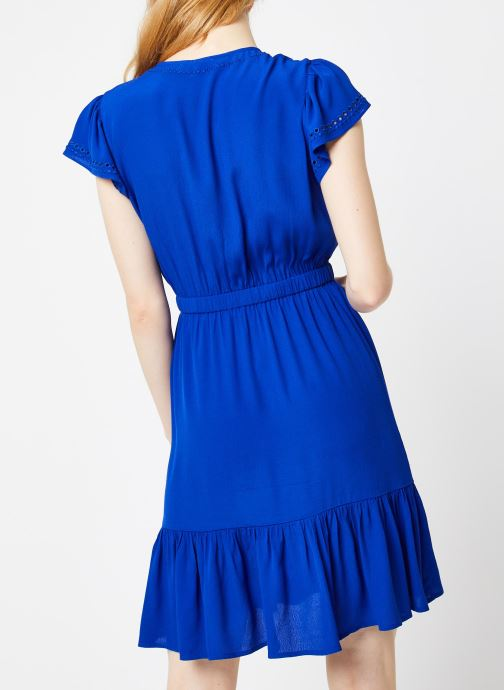 Vêtements Suncoo ROBE CHAYA Bleu vue portées chaussures