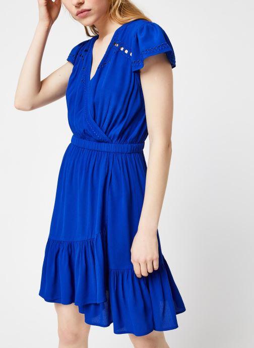 Vêtements Suncoo ROBE CHAYA Bleu vue droite
