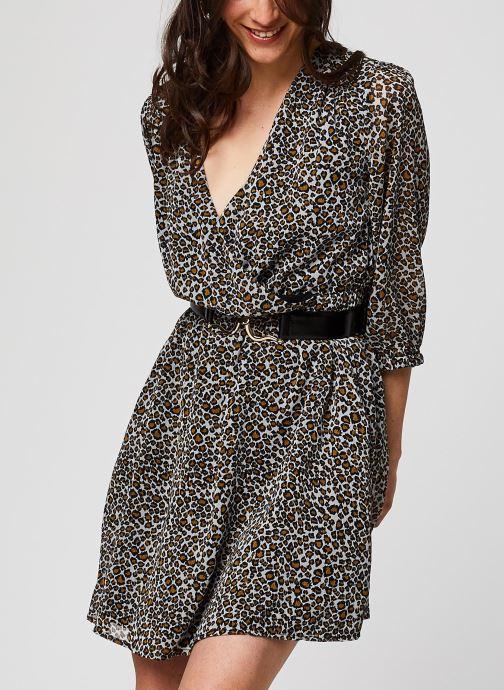 Vêtements Suncoo ROBE CHORA Marron vue détail/paire