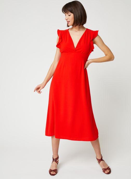 Vêtements Suncoo ROBE CLAYTON Rouge vue bas / vue portée sac