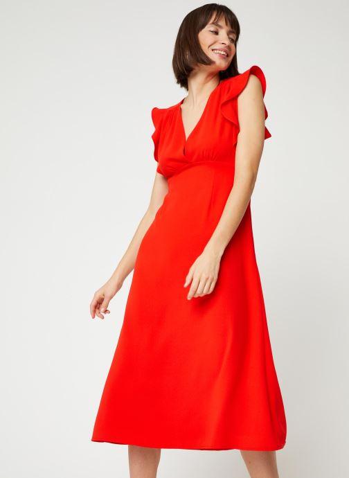 Vêtements Suncoo ROBE CLAYTON Rouge vue détail/paire