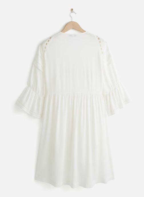 Vêtements Suncoo ROBE COLLY Blanc vue bas / vue portée sac