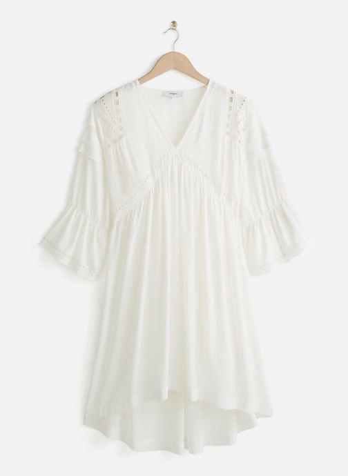 Vêtements Suncoo ROBE COLLY Blanc vue détail/paire
