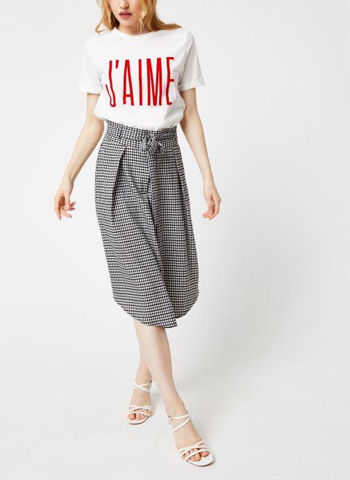 Vêtements Suncoo T-SHIRT MELROSE Blanc vue bas / vue portée sac