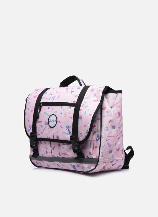 Per la scuola Rip Curl SATCHEL 2020 Rosa modello indossato