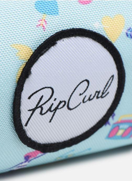 Scolaire Rip Curl TROUSSE DOUBLE Bleu vue gauche