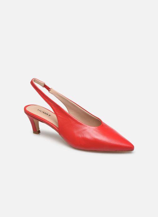 Zapatos de tacón Humat Galena Hebilla Rojo vista de detalle / par