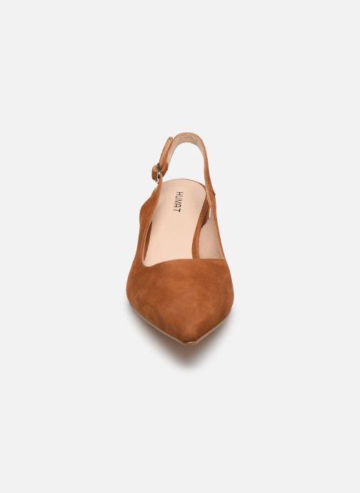Sandali e scarpe aperte Humat Malena Hebilla Marrone modello indossato