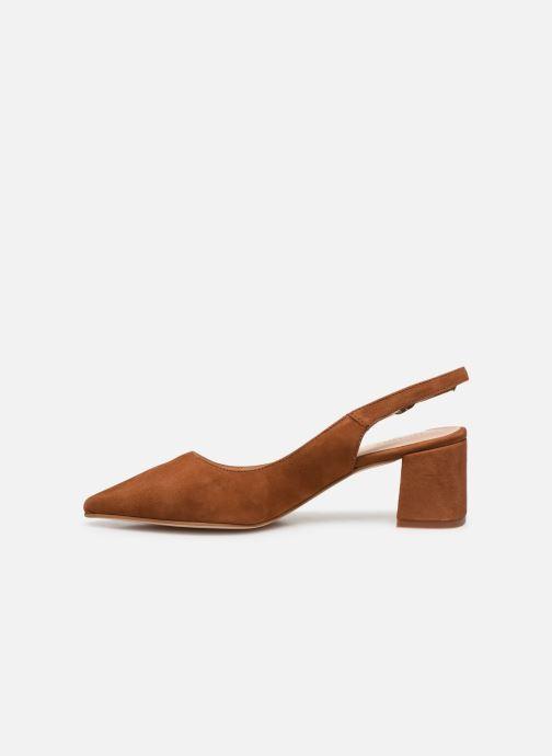 Sandali e scarpe aperte Humat Malena Hebilla Marrone immagine frontale