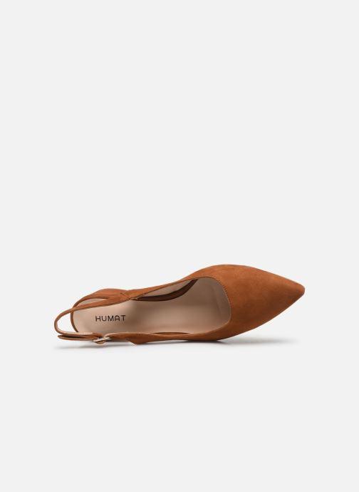 Sandali e scarpe aperte Humat Malena Hebilla Marrone immagine sinistra