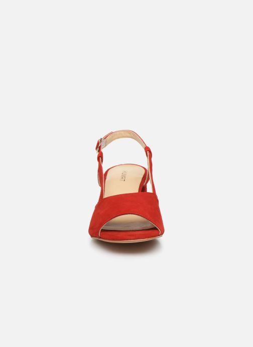 Sandali e scarpe aperte Humat Sm-101.2.81 Rosso modello indossato