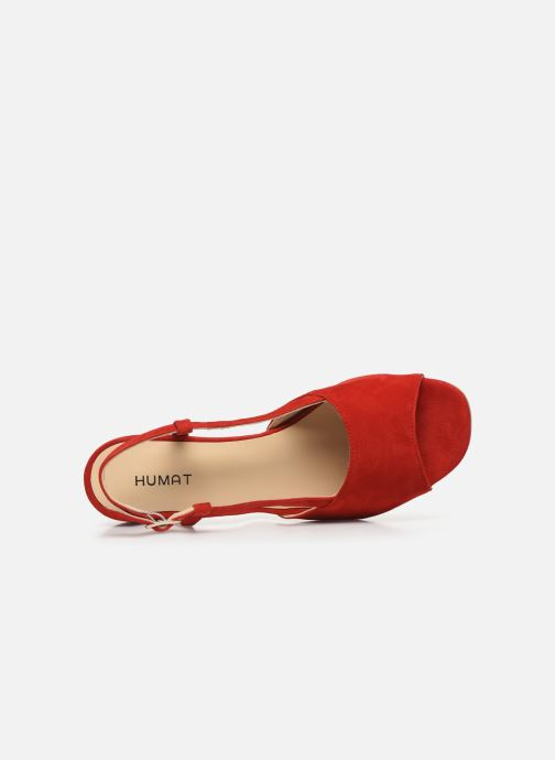 Sandali e scarpe aperte Humat Sm-101.2.81 Rosso immagine sinistra