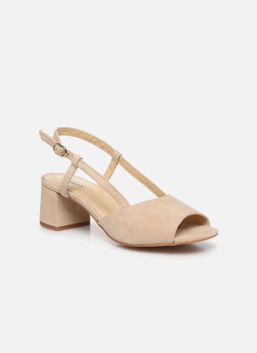 Sandales et nu-pieds Humat Sm-101.2.93 Beige vue détail/paire