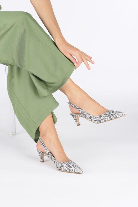 Zapatos de tacón Humat Sm-103.7.22 Blanco vista de abajo