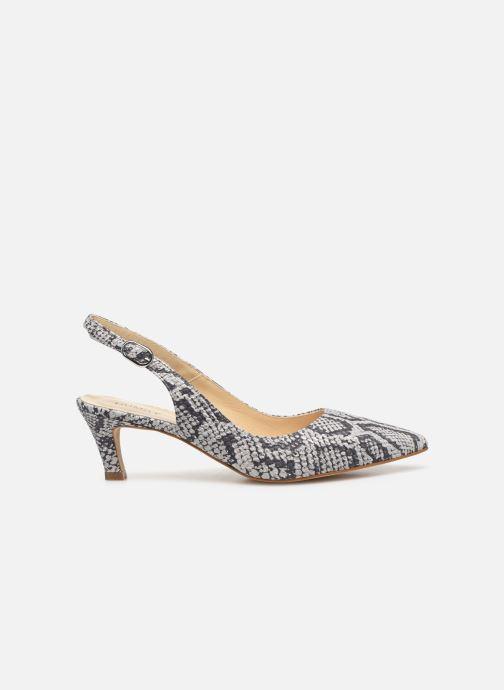 Zapatos de tacón Humat Sm-103.7.22 Blanco vistra trasera