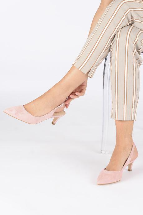 Zapatos de tacón Humat Sm-105.2.62 Rosa vista de abajo