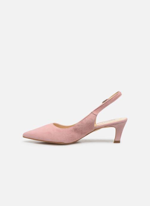 Zapatos de tacón Humat Sm-105.2.62 Rosa vista de frente
