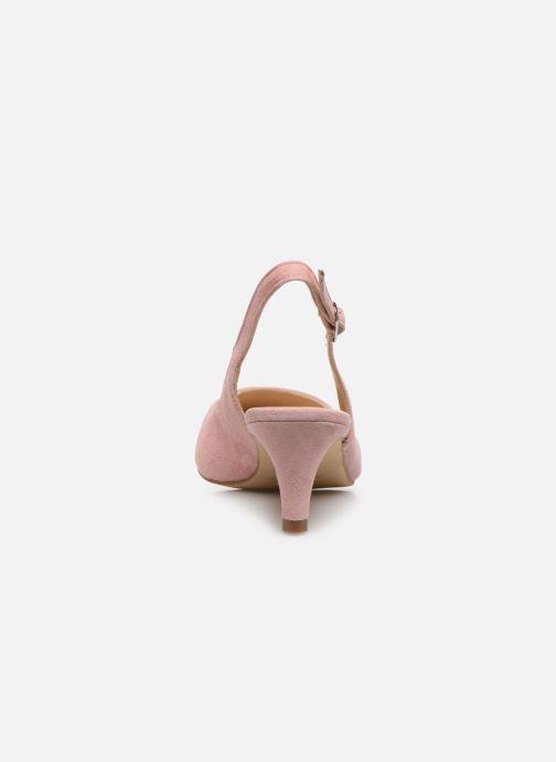 Zapatos de tacón Humat Sm-105.2.62 Rosa vista lateral derecha