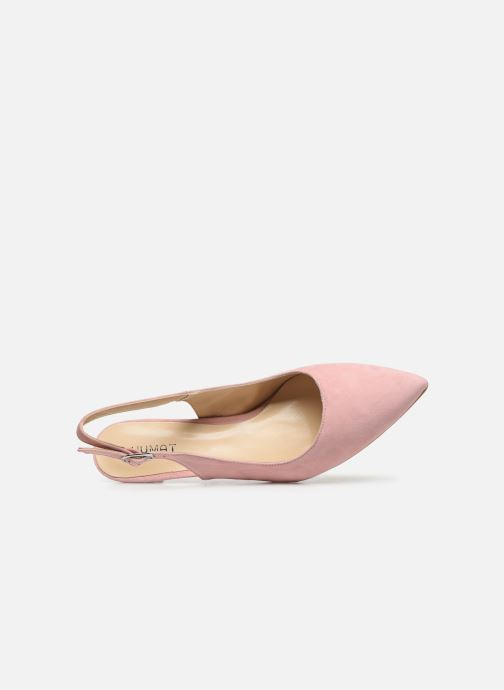 Zapatos de tacón Humat Sm-105.2.62 Rosa vista lateral izquierda